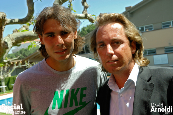 Rafa Nadal y Nacho Alzamora